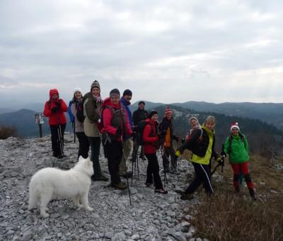 Zagradski vrh, Gorski kotar, Dec 2015