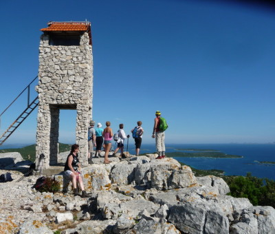 Mindful hiking retreat, Pašman island, June 2016